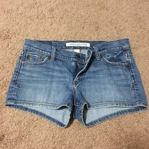 Abercrombie Jean Shorts 8